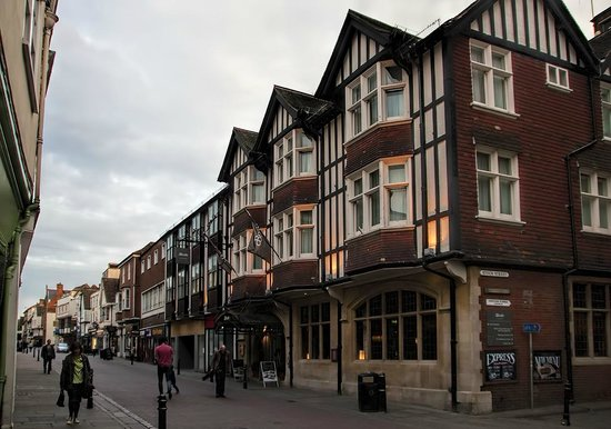 ABode Canterbury Hotel, view of the building