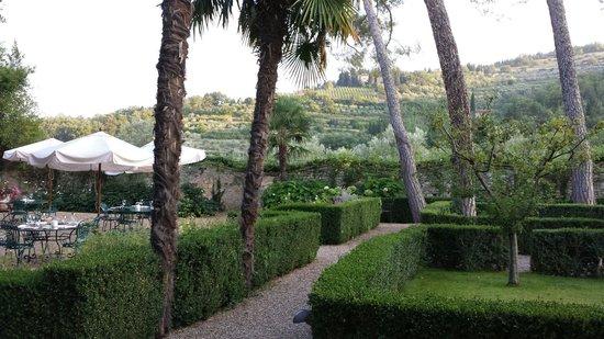 Villa Bordoni: Villa garden