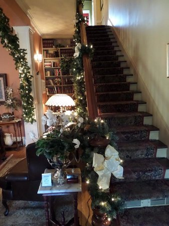 The Aerie Bed and Breakfast: main stairwell