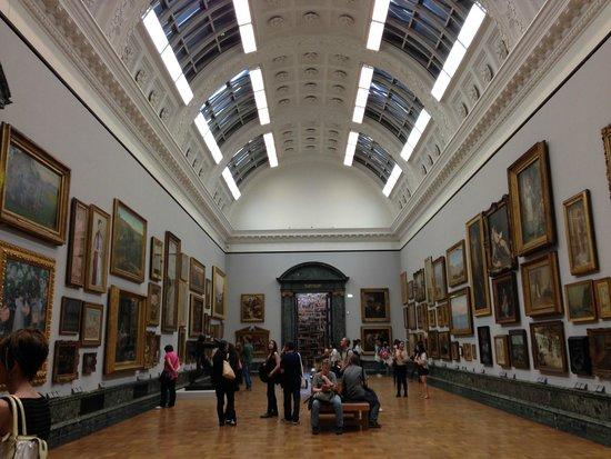 Tate Britain: Interior do museu