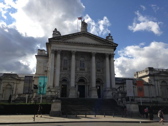 Tate Britain: Fachada do museu