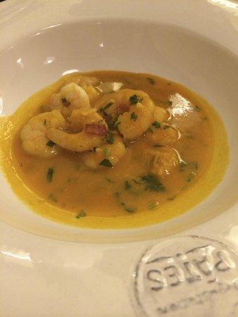Quermesse Restaurante: Crevette (entrée)