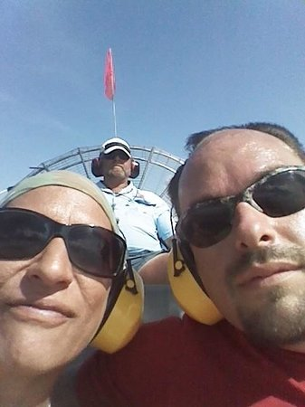 Wild Willy's Airboat Tours: Thanks again Capt Dan!!!! We enjoyed every minute!!!
