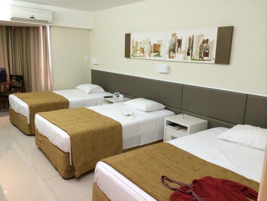 Rafain Palace Hotel & Convention: Quarto