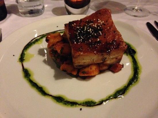 Hermosa: pork belly