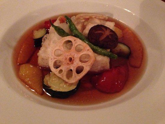 Taiko Japanese Restaurant & Bar: Agedashi tofu with vegetables