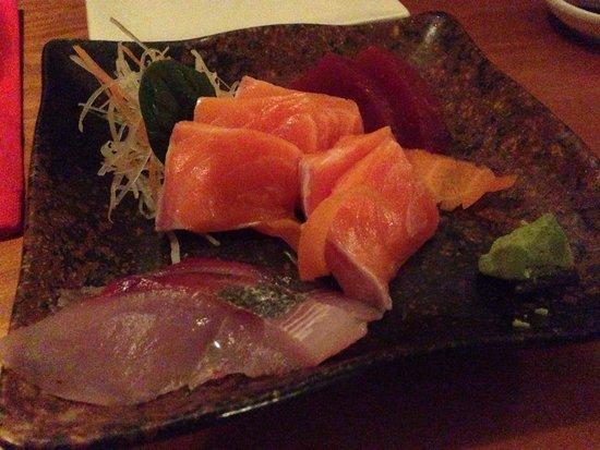 Taiko Japanese Restaurant & Bar : Sashimi selection