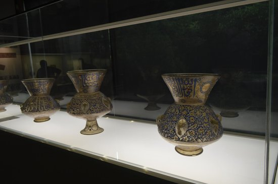 Musée Calouste-Gulbenkian : Peças em vidro