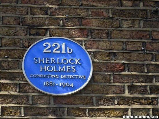 Sherlock Holmes Museum: Façade.