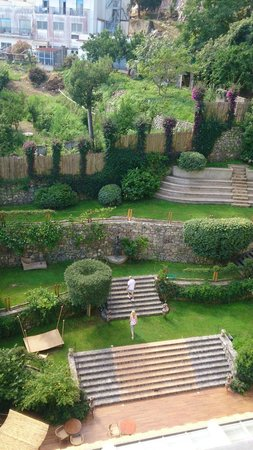 Conca Park Hotel : View of garden from room