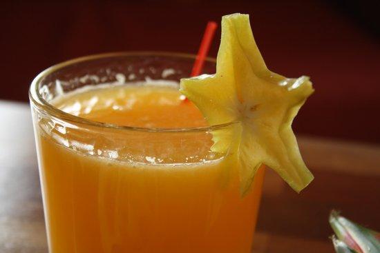 Café de los Sueños: Orange juice