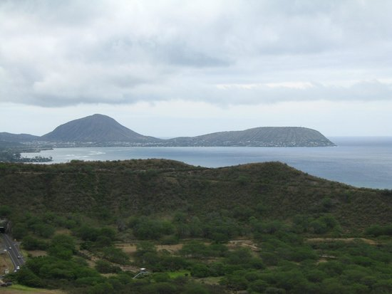 Diamond Head State Monument: View from Diamond Head