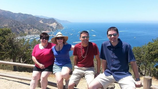 Catalina Coffee & Cookie Co.: We got up the mountain thanks to the coffee, (& truth be known, a golf cart rental-haha)