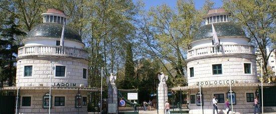 Lisbon Zoo: Entrada principal