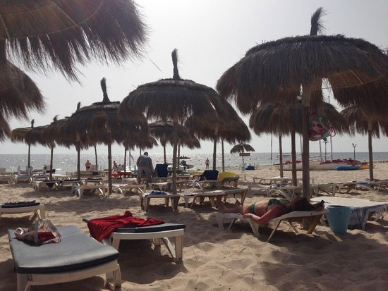 El Mouradi Club Kantaoui : Beach was nice
