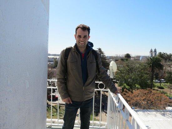 Phare de Colonia del Sacramento : Carlos desde o alto do Farol