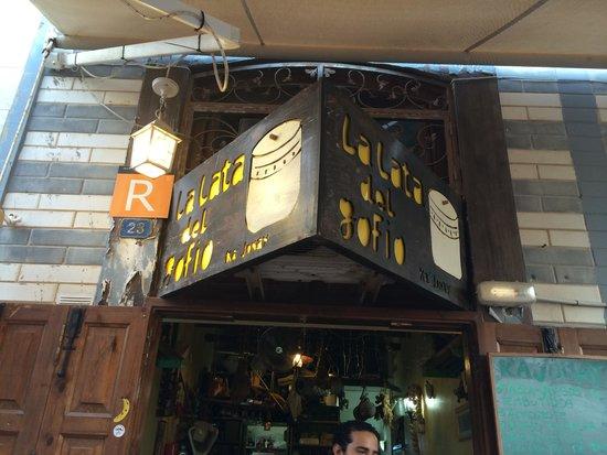 La Lata de Gofio : Sign