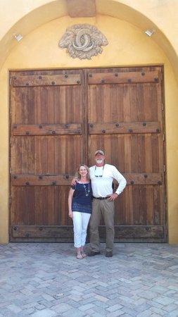 Sustainable Vine Wine Tours : The front door