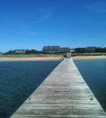 The Wauwinet: View from the pier/dock