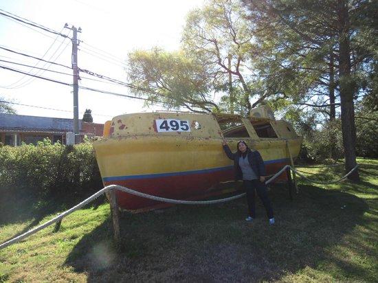 Museo de los Naufragios y Tesoros : Barco de salvamento