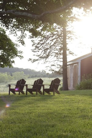 Maple Hill Farm Inn and Conference Center: sitting area