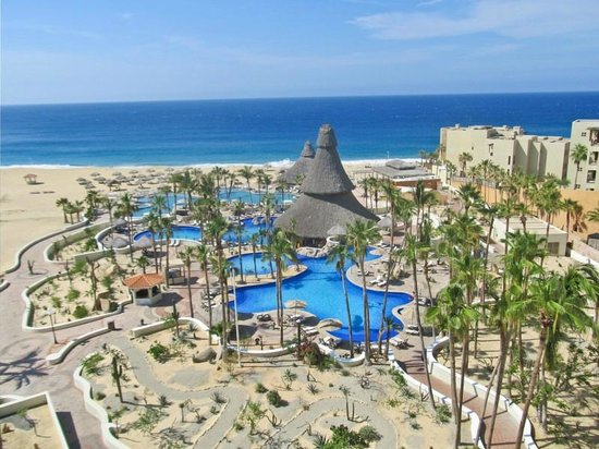 Sandos Finisterra Los Cabos: View from our room...