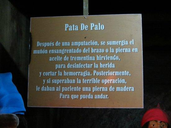 Museo de los Naufragios y Tesoros: Descricao