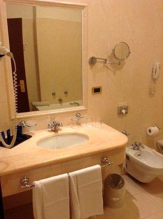 Ambasciatori Palace Hotel: banheiro