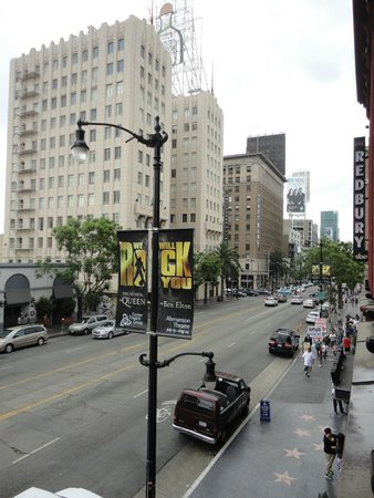 The Redbury Hollywood: View down on Vine St.