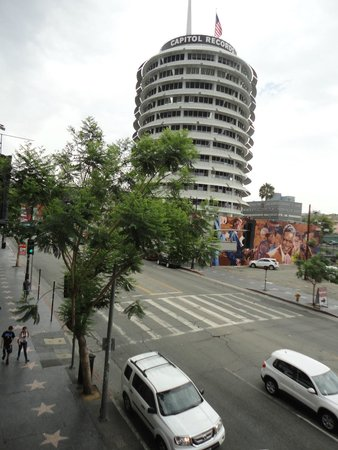 The Redbury Hollywood: Capitol Records just across the street