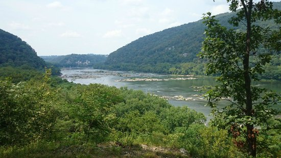 Harpers Ferry Adventure Center : View from the Look Out Point at HFAC