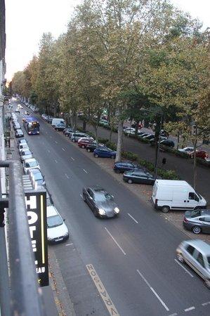 Hôtel Mirabeau : Vista desde el balcon del cuarto
