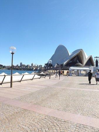 Casa de la Ópera de Sídney: Chegada ao Opera House