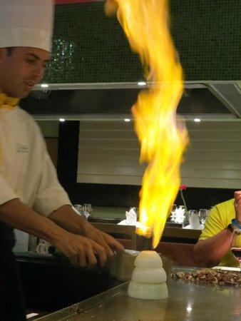 Iberostar Cancun: Show de Teppanyaki