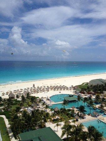 Iberostar Cancun: Así la vista....