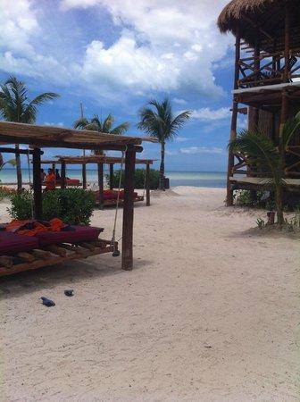 Villas Flamingos: VISTA DEL HOTEL