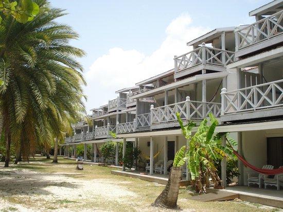 Coconut Beach Club: Vista dos quartos