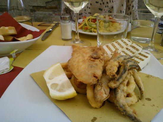 Osteria Mocenigo da Guido e Luca : fried fish of the day