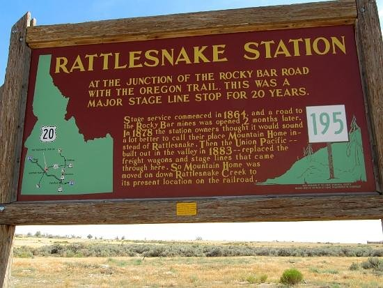 Rattlesnake Station historical site, Mountain Home