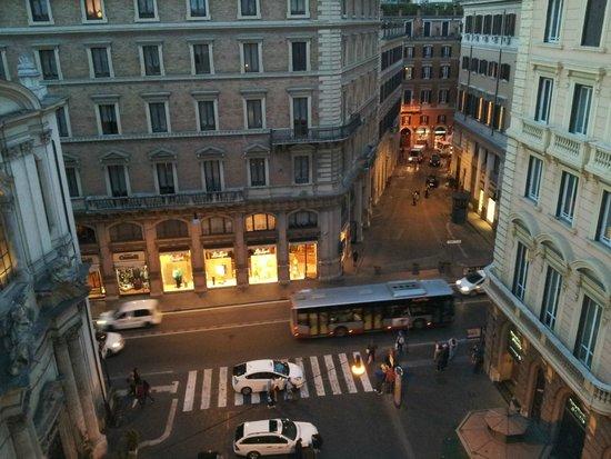 Hotel delle Nazioni: Vista desde la terraza