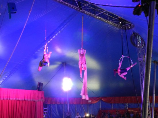 Circus World: under the big top