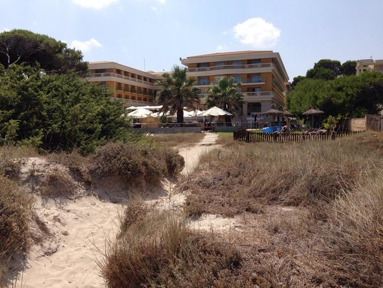 Be Live Collection Palace de Muro: Hotelansicht vom Strand