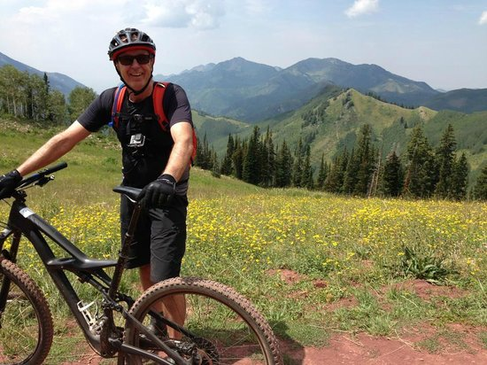 Park City Mountain Resort : AA on Wasatch Crest Park City UTAH August 2014
