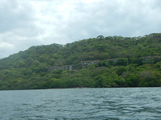 Andaz Costa Rica Resort At Peninsula Papagayo: Photo of the property from a kayak out on the ocean