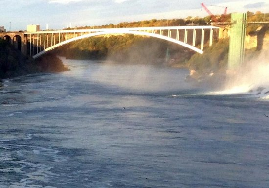 Rainbow Bridge, Niagara Falls, Ontario, Canada