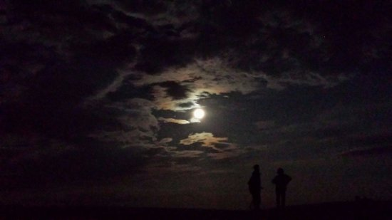 White Sands National Monument: Supermoon
