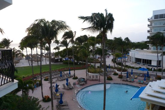 Aruba Marriott Resort & Stellaris Casino: View From Room