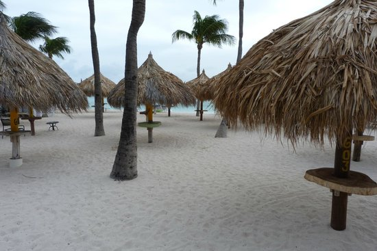 Aruba Marriott Resort & Stellaris Casino: Early in the morning