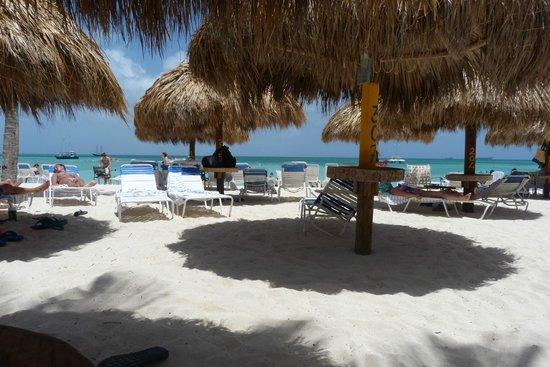 Aruba Marriott Resort & Stellaris Casino : The Palapas
