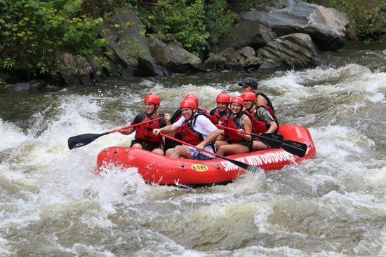 Smoky Mountain Outdoors: August 2014 Rafting Trip